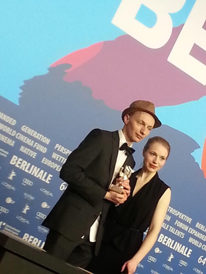Ours d'argent pour le meilleur scenario: Anna et Dietrich Brüggemann - Kreuzweg, Allemagne. © Malik Berkati